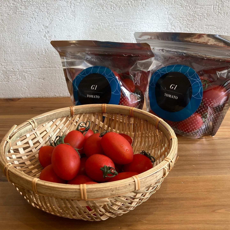 知り合いの関東農産さんより、美味しいミニトマト入荷しました根っこにストレスをかけない農法を研究されてできた、絶品トマトです甘さはもちろん、酸味やコクもあり、絶妙なバランスですしっかりと食感もあるので、食べ応えありです。まだ市場に出回っておらず、百貨店などの催事販売の際には即完売、リピーターが続出したそうです!ぜひ、一度味わってみてくださいパンと一緒に手土産にしてもいいですね